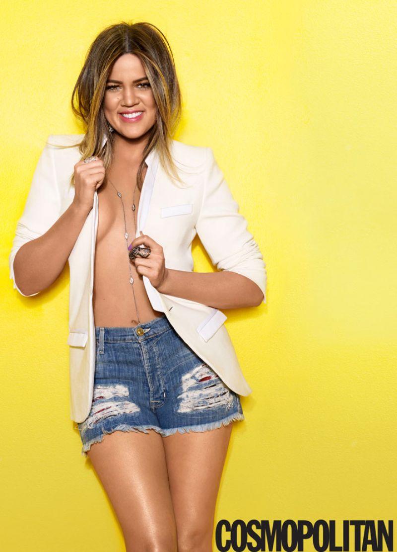 Khloe Kardashian – Cosmopolitan Magazine – April 2014 Issue