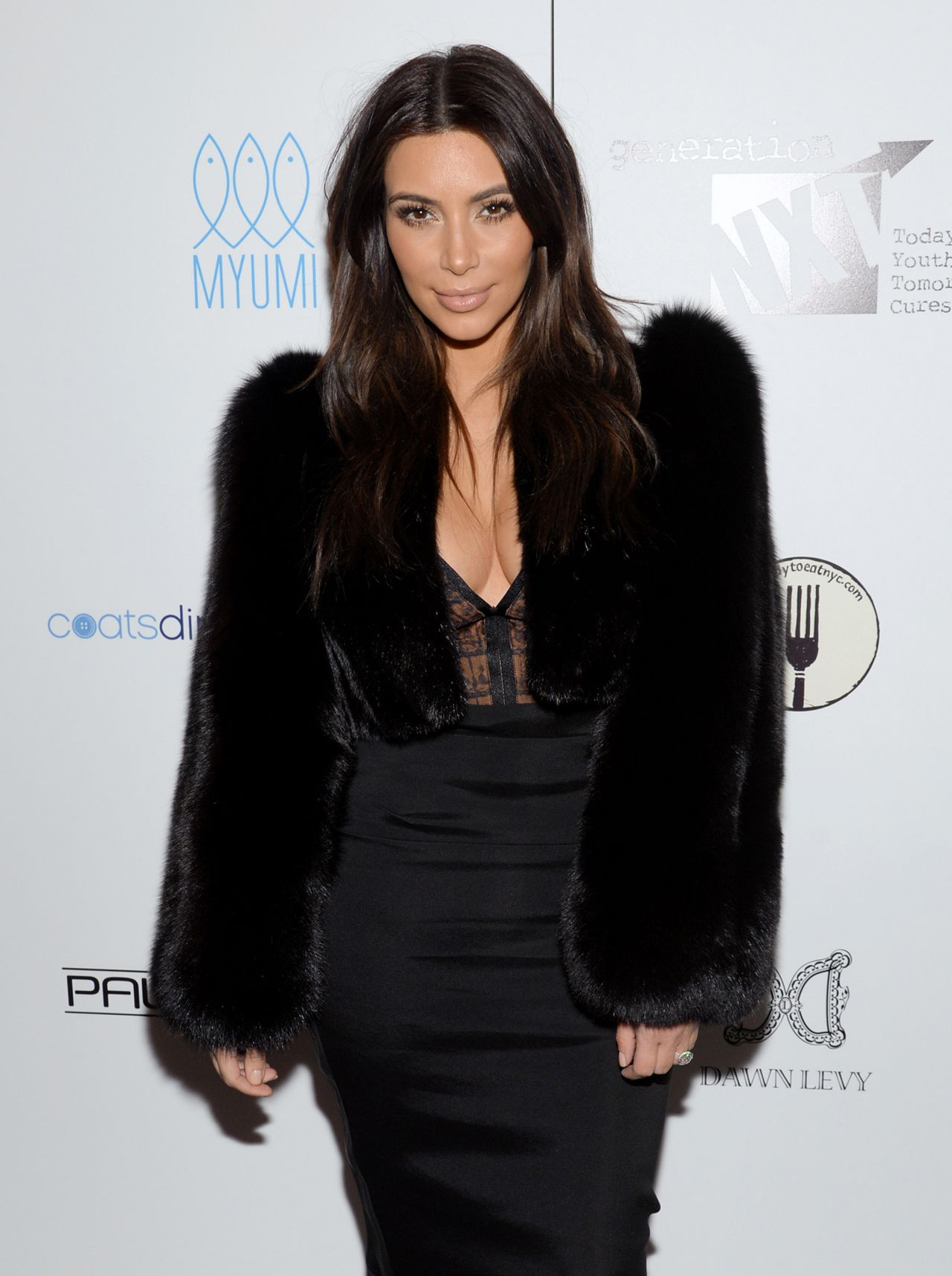 Kim Kardashian - Generation NXT Charity Benefit in New York - February 2014