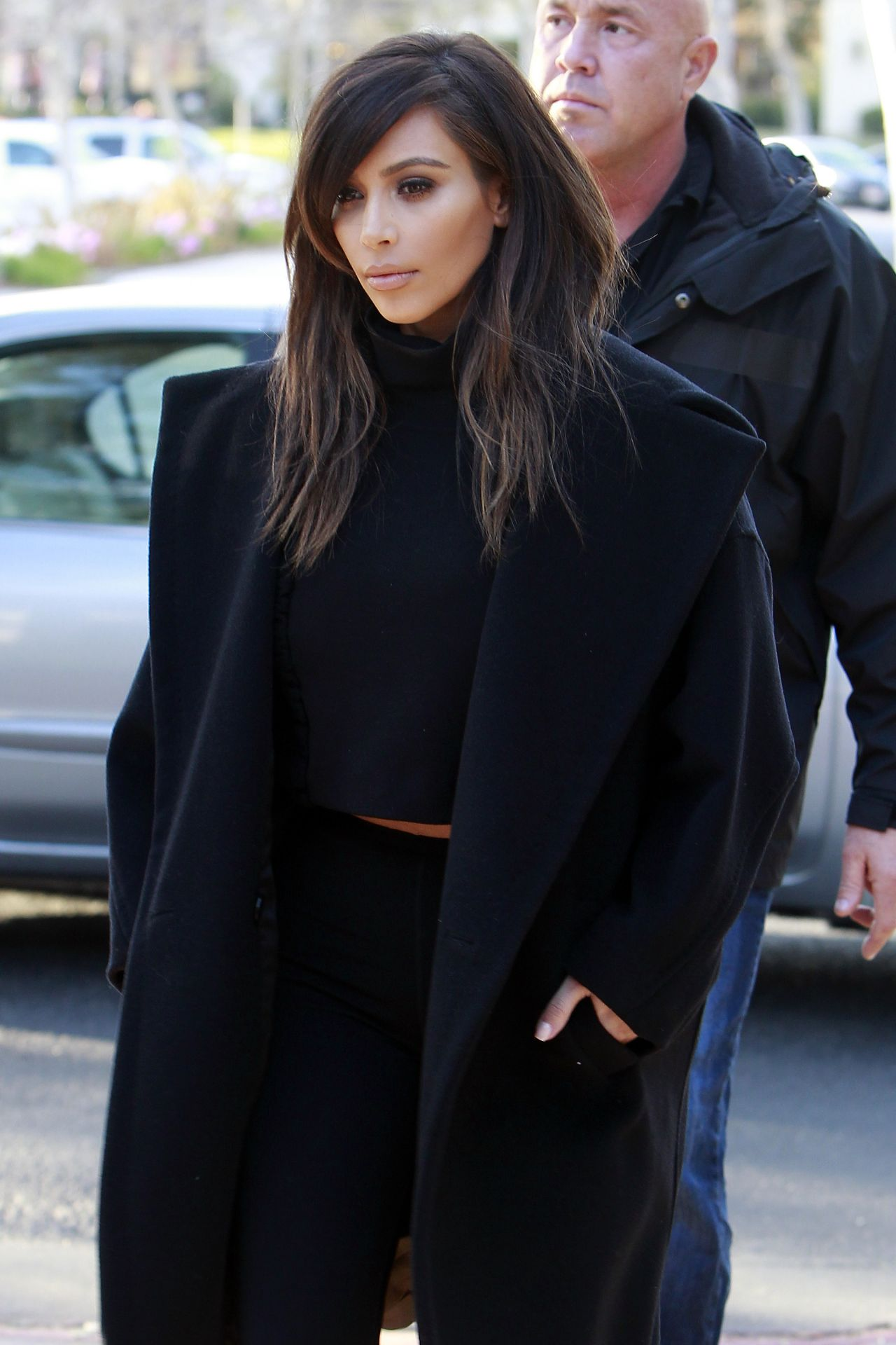 Kim Kardashian Lunch With Mom Kris Jenner At Fins