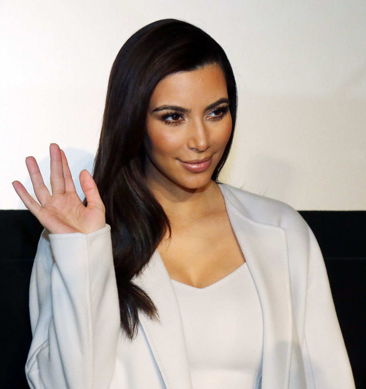 Kim Kardashian News Conference In Vienna Austria