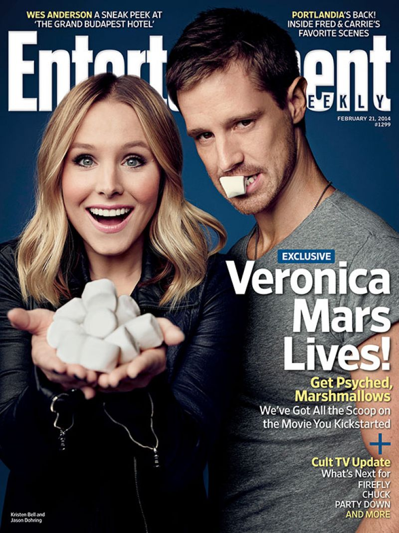 Kristen Bell - Entertainment Weekly Magazine - February 21, 2014 Cover