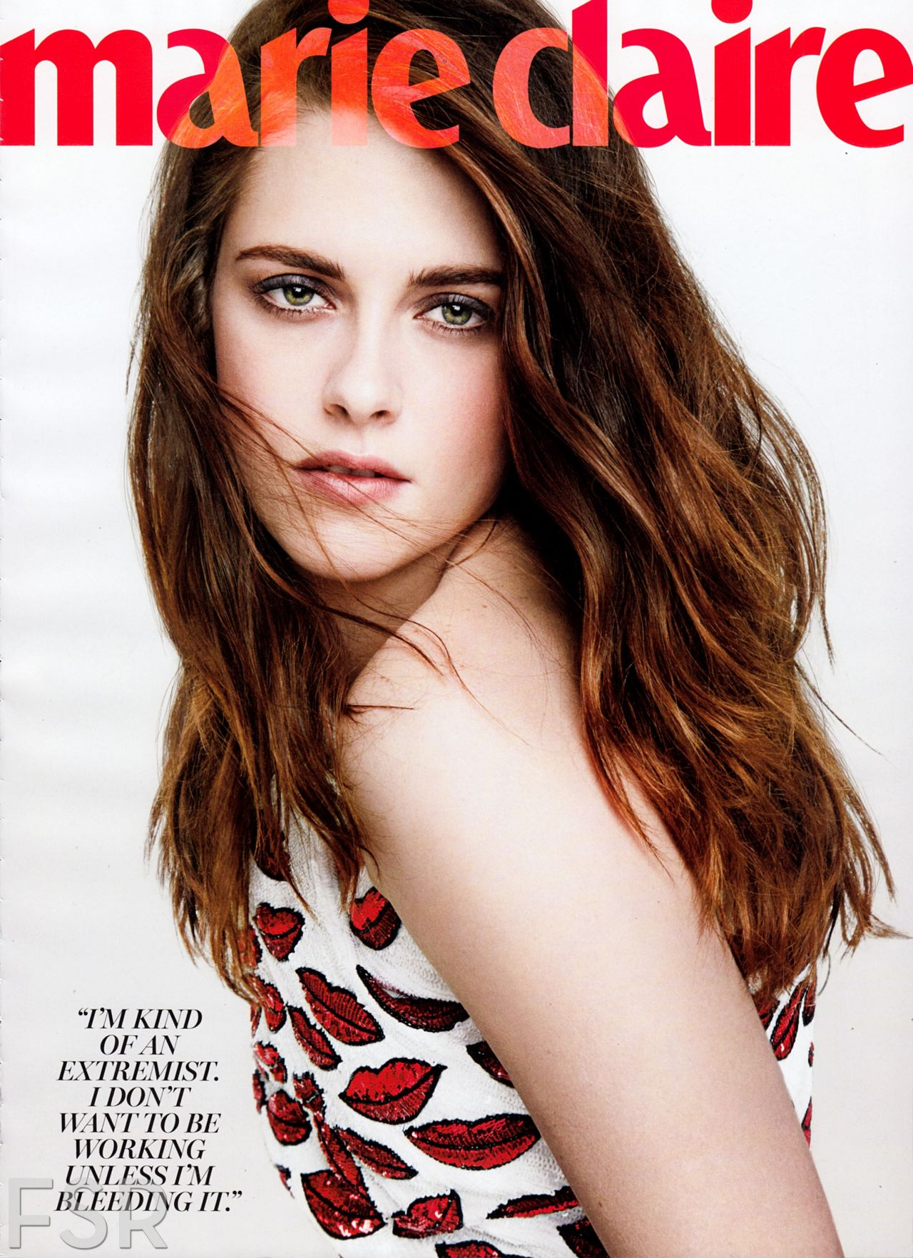 Kristen Stewart - MARIE CLAIRE Magazine - March 2014 Issue