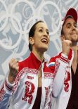 Ksenia Stolbova - Sochi 2014 Winter Olympics - Pairs Short Program