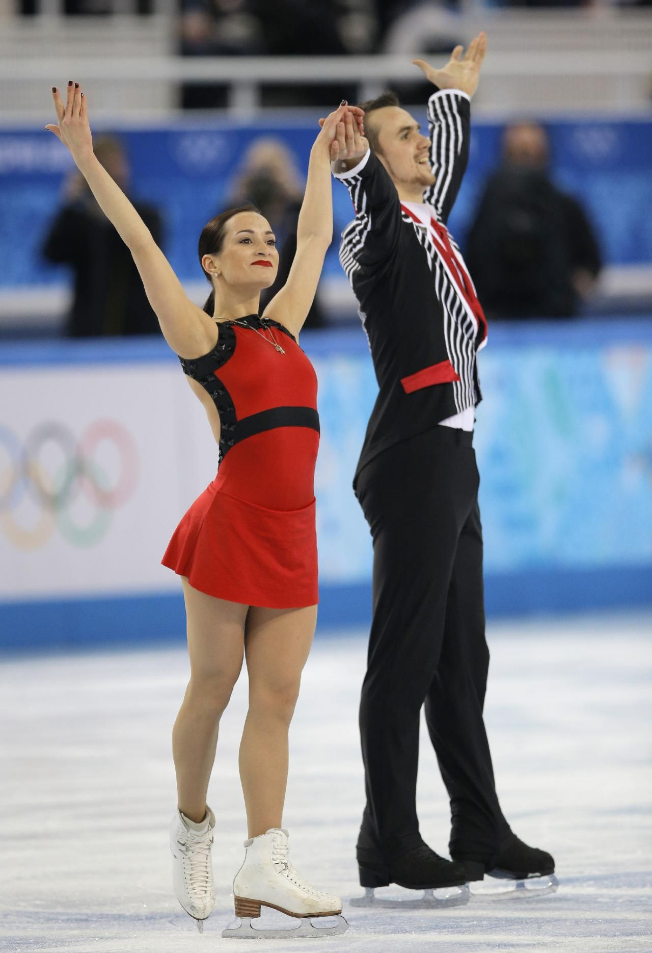 Ksenia Stolbova - Sochi 2014 Winter Olympics – Team Pairs Free Skating Program