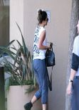Kylie Jenner Casual Style - at a Business Meeting in Ventura