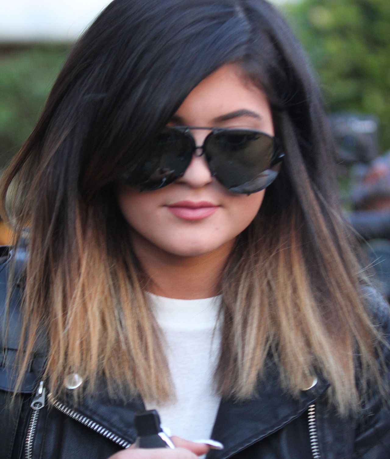 Kylie Jenner Hair Style , Goes to Andy LeCompte Salon in Los