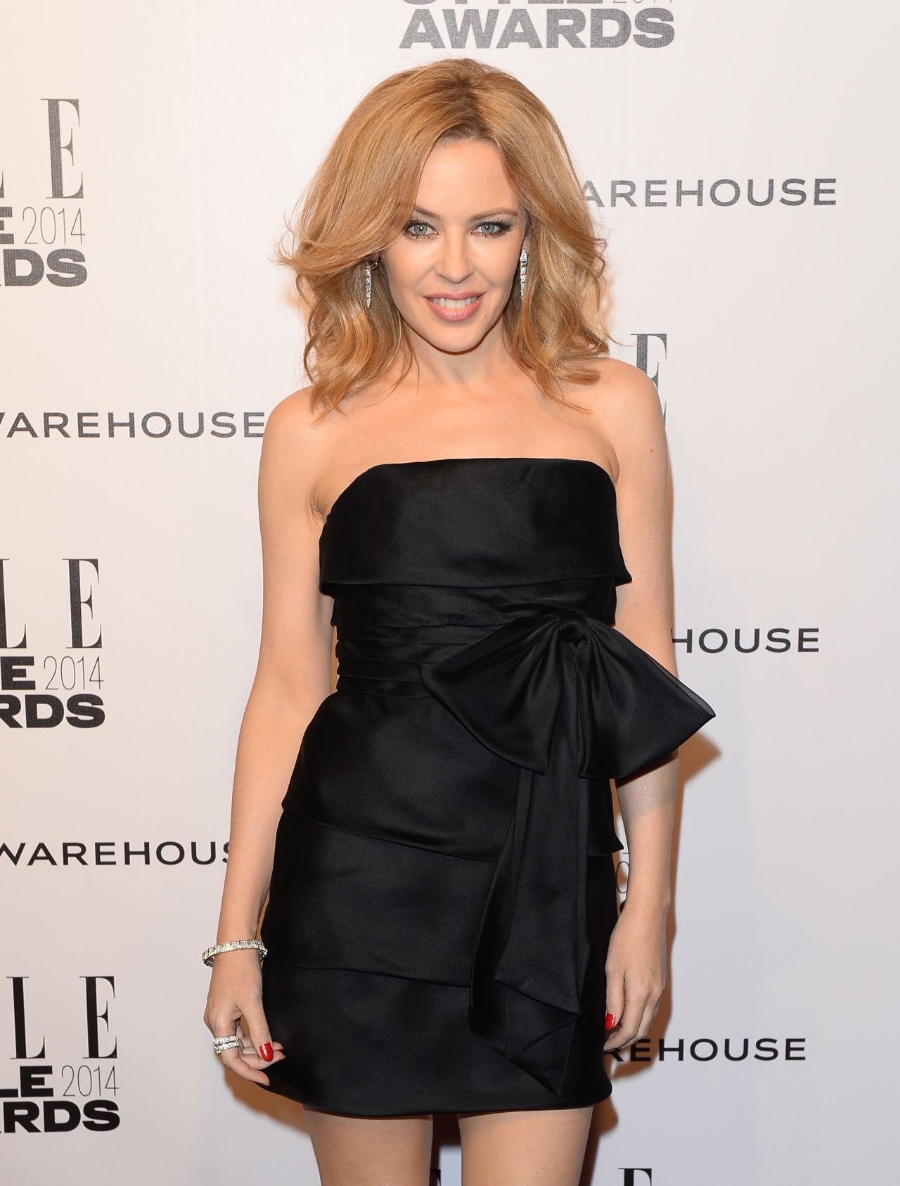Kylie Minogue - 2014 ELLE Style Awards in London