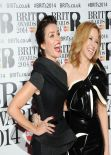 Kylie Minogue and Dannii Minogue - 2014 Brit Awards