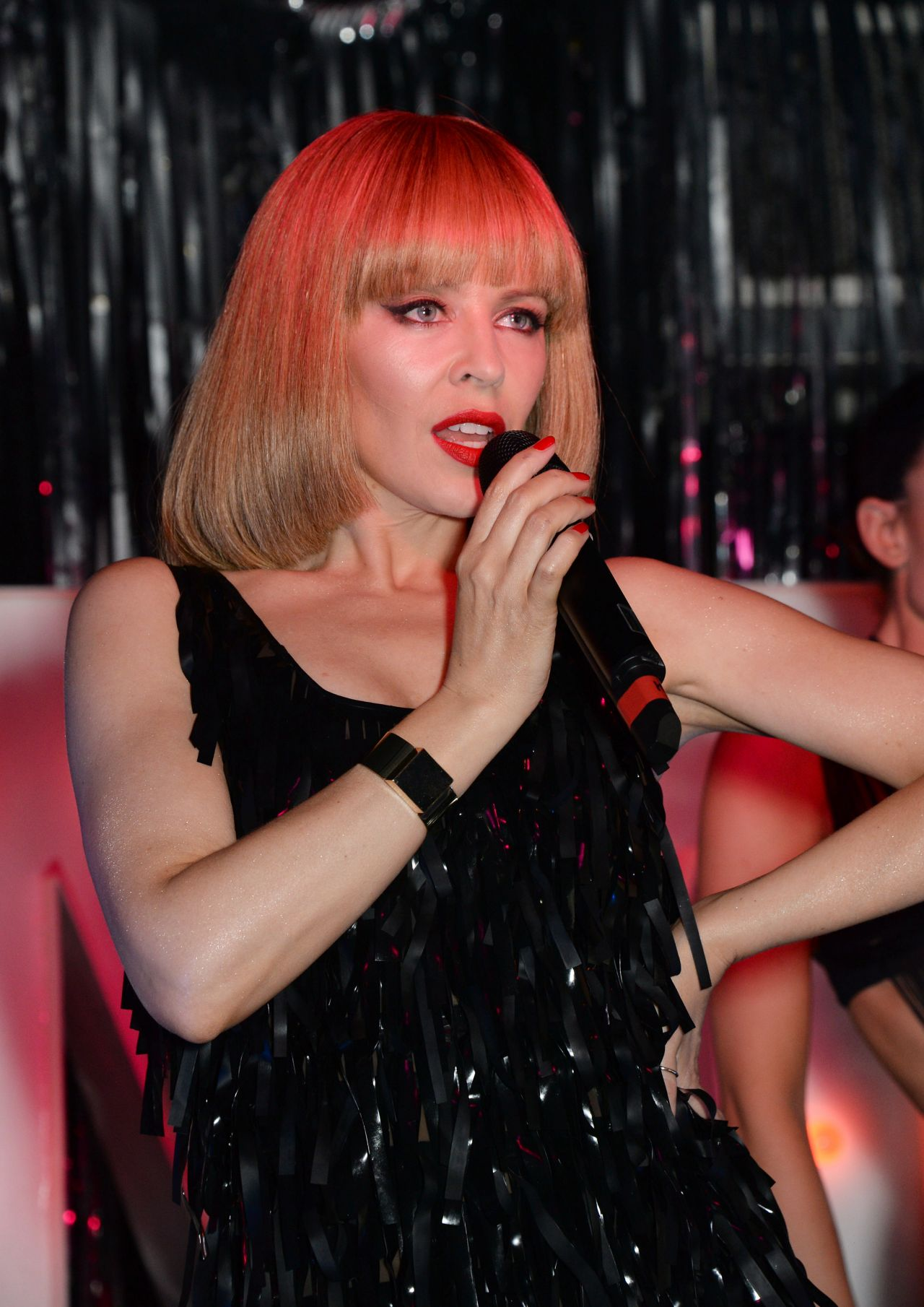 Kylie Minogue - Performance at The Old Blue Last Pub - London, February 2014