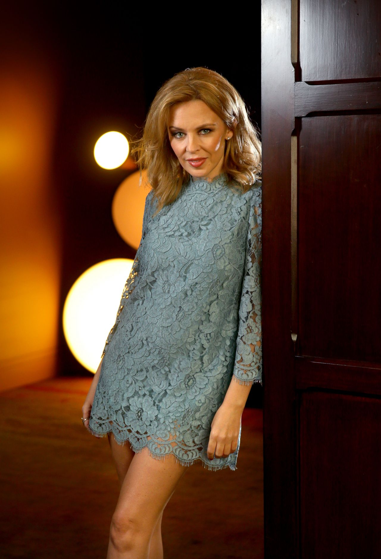 Kylie Minogue Seduces in New Photoshoot at the QT Hotel Sydney