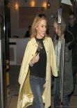 Kylie Minogue Street Candids - London, February 2014