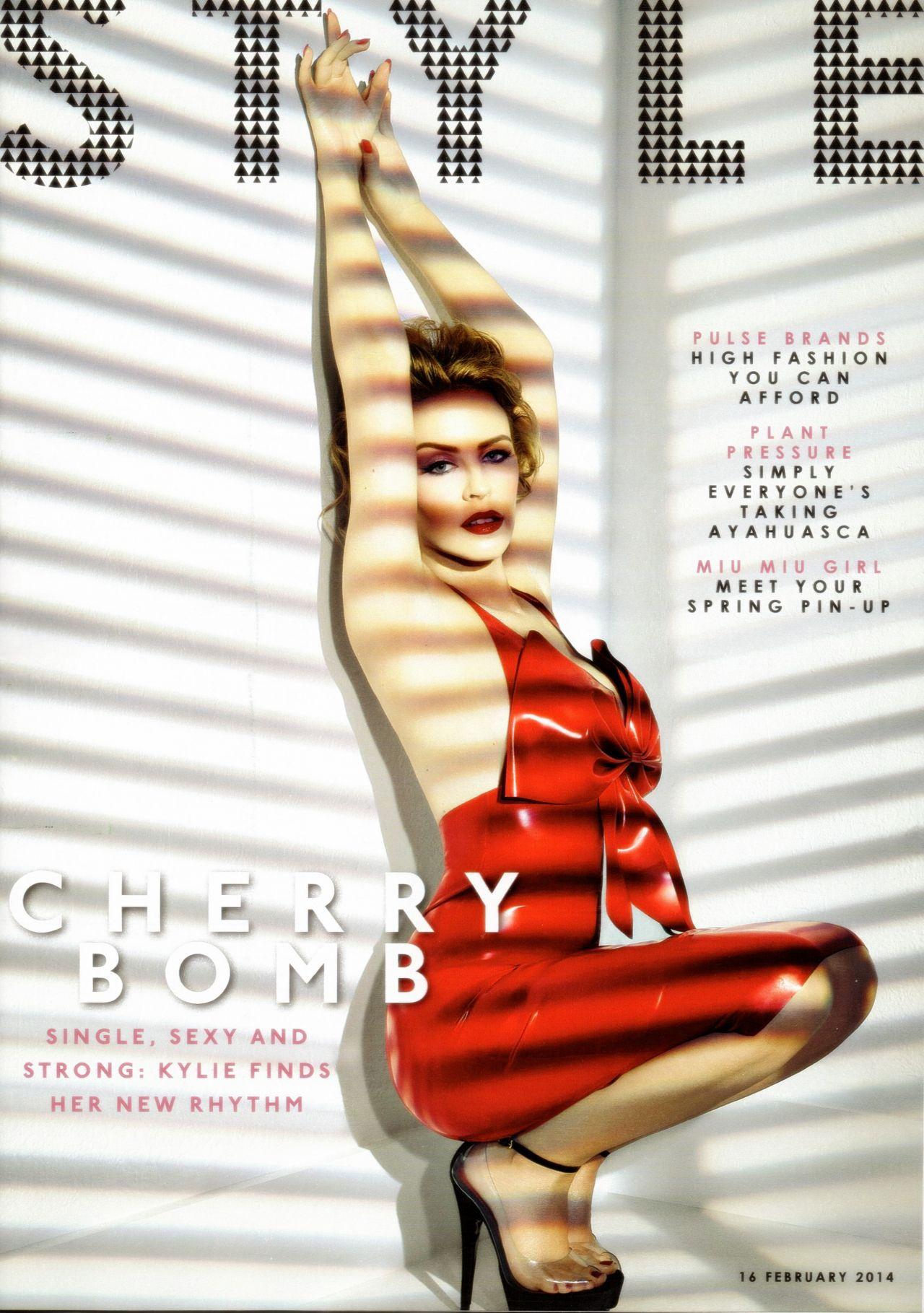 Kylie Minogue - The Sunday Times Style Magazine (UK) - February 16, 2014