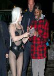 Lady Gaga in New York City - February 2014