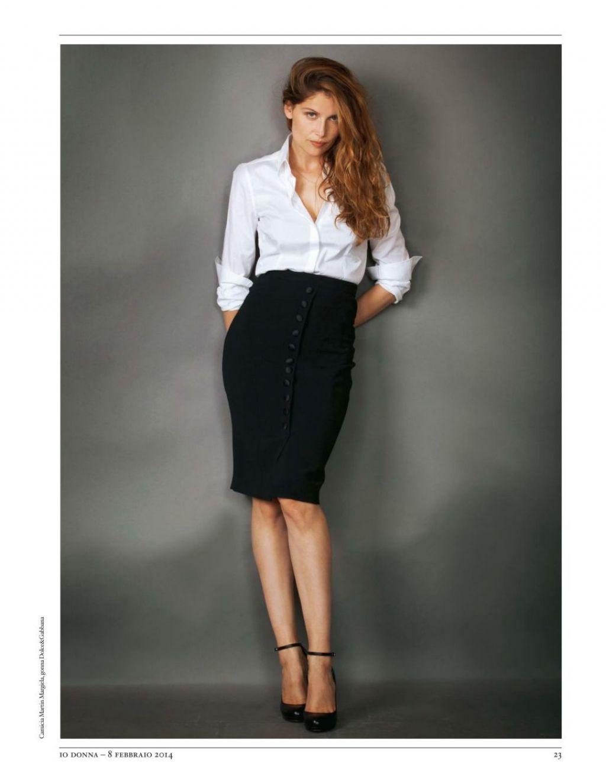 Laetitia Casta Io Donna Magazine Italy February 8 2014