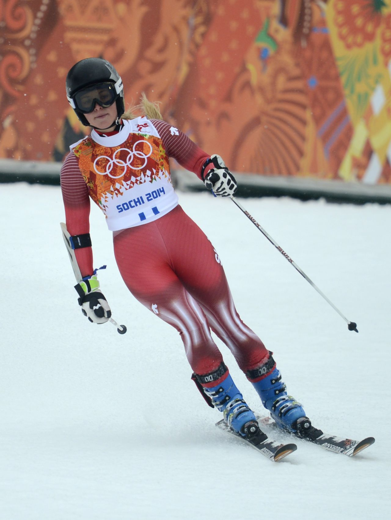 Lara Gut - 2014 Sochi Winter Olympics - Alpine Skiing Ladies