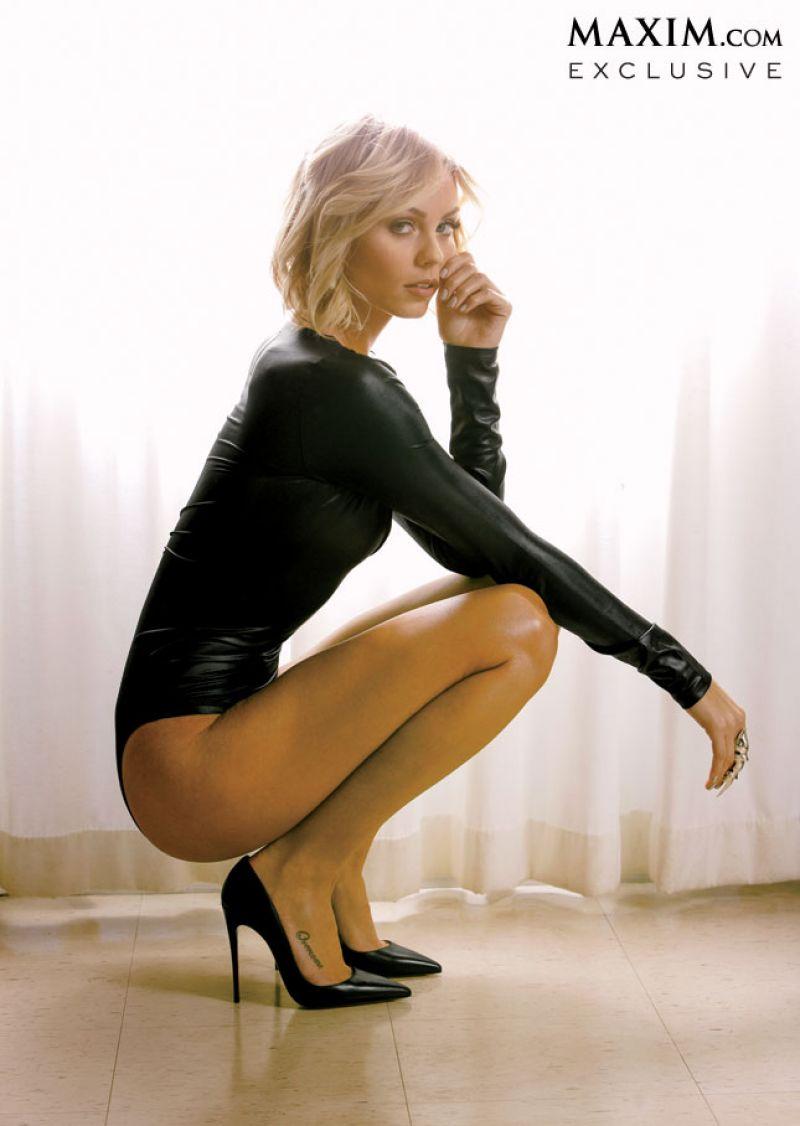 Laura Vandervoort Maxim Magazine March 2014 Issue