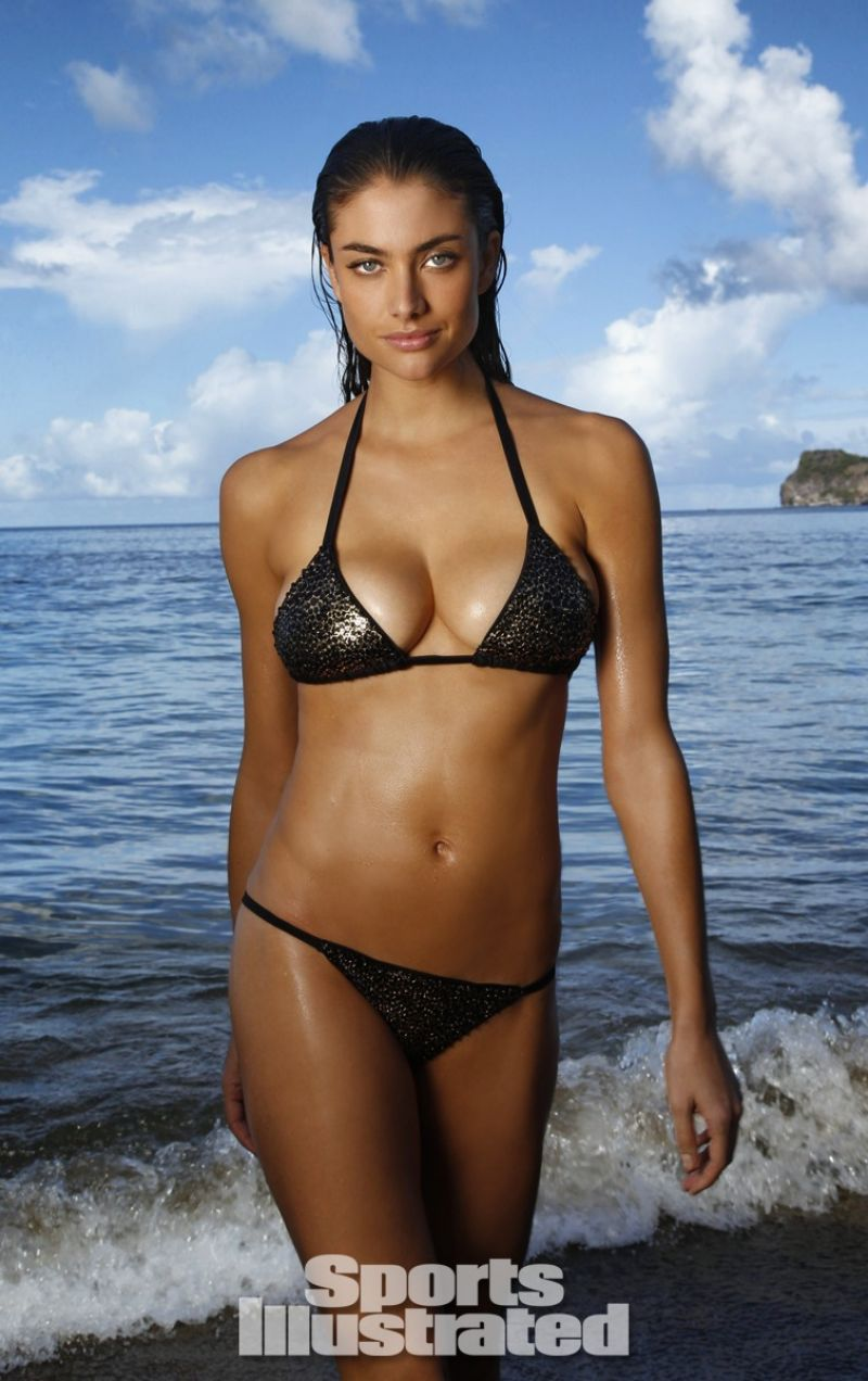... sports illustrated 2014 swimsuit issue chanel iman in bikini sports