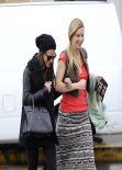 Lea Michele & Heather Morris - Shopping in West Hollywood - February 2014