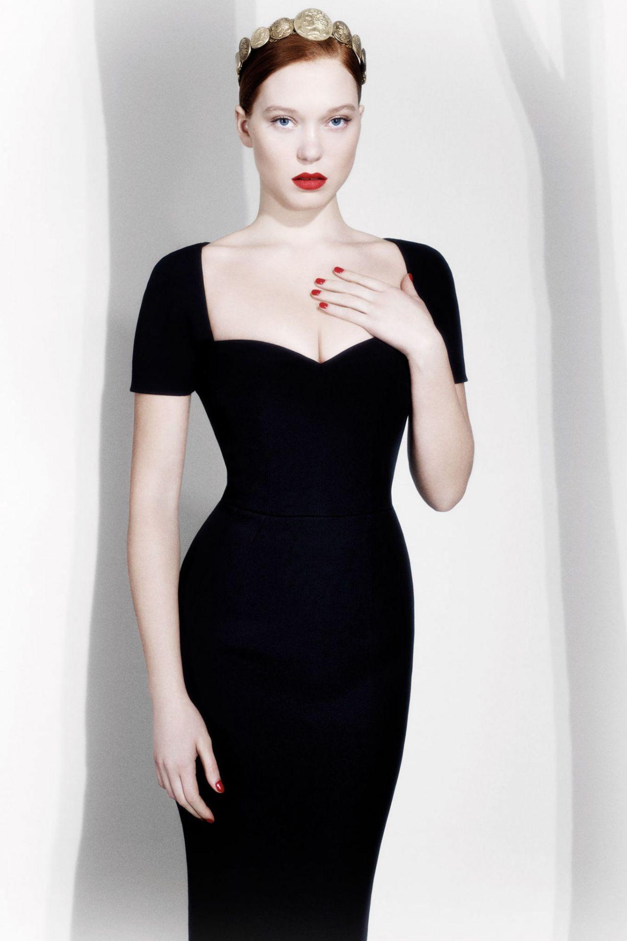 Lea Seydoux L Express Styles France Luciana Val