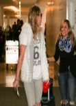 LeAnn Rimes Street Style - LAX Airport, February 2014
