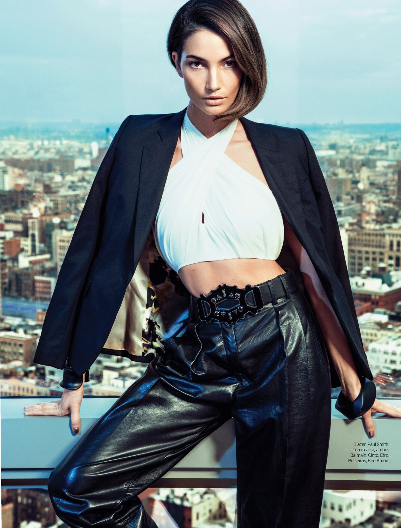 Lily Aldridge - ELLE Magazine (Brazil) - April 2013 Issue (Eduardo Rezende)