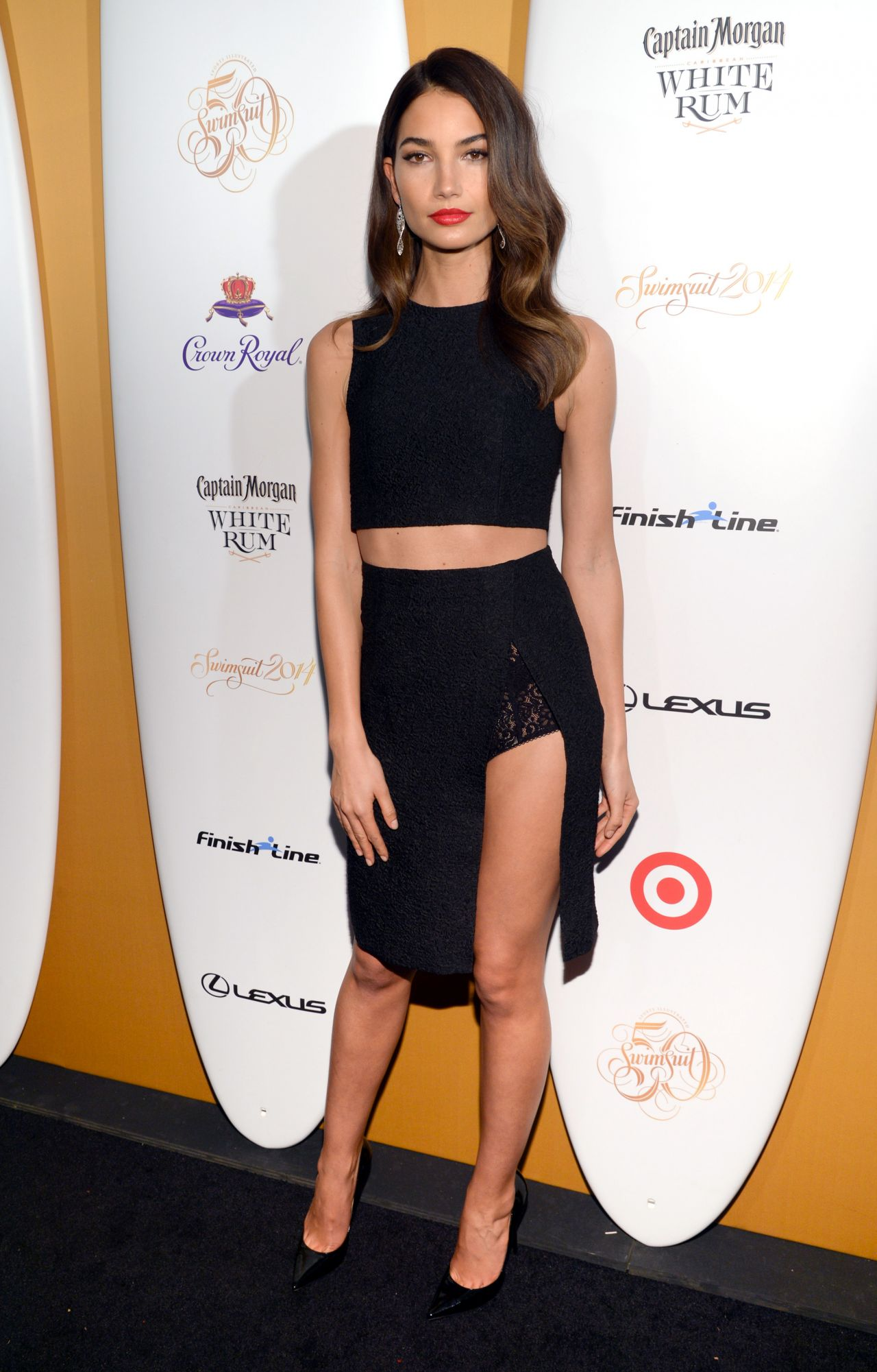 Lily Aldridge - Sports Illustrated Swimsuit Celebrates 50 Years Of Swim In New York City