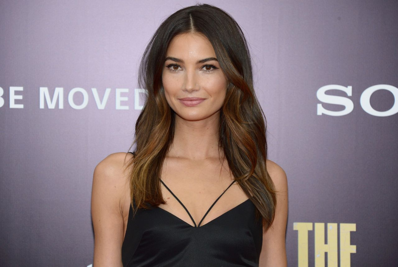 Lily Aldridge - THE MONUMENTS MEN Premiere in New York City