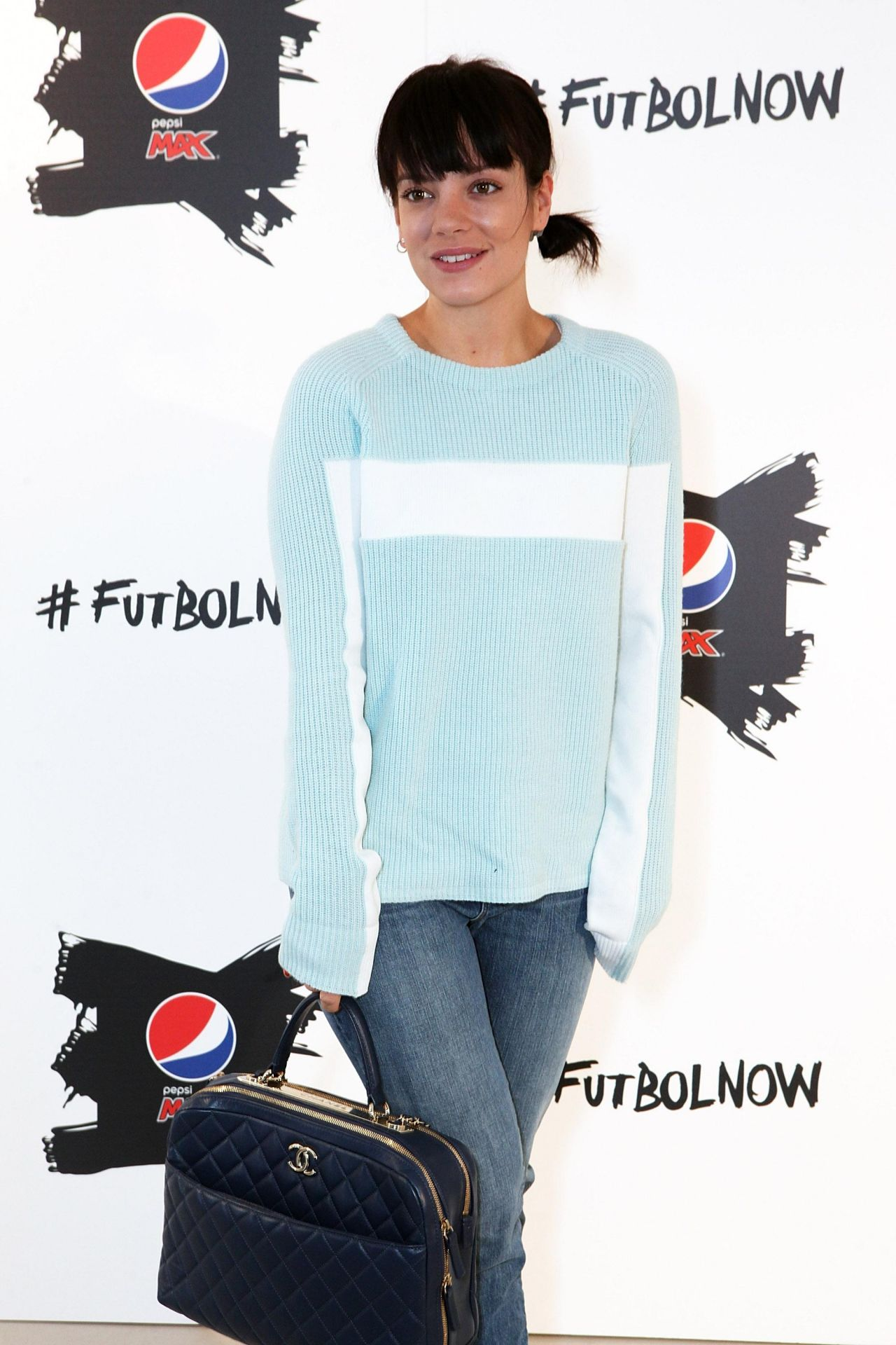 Lily Allen Attends Pepsi
