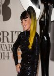 Lily Allen Wearing WilliamVintage - BRIT Awards 2014 at the 02 Arena, London