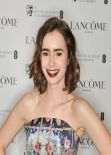 Lily Collins at The Lancôme Pre-Bafta Party in London, February 2014