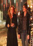 Lindsay Lohan & Ali Lohan Street Style - East Village, February 2014