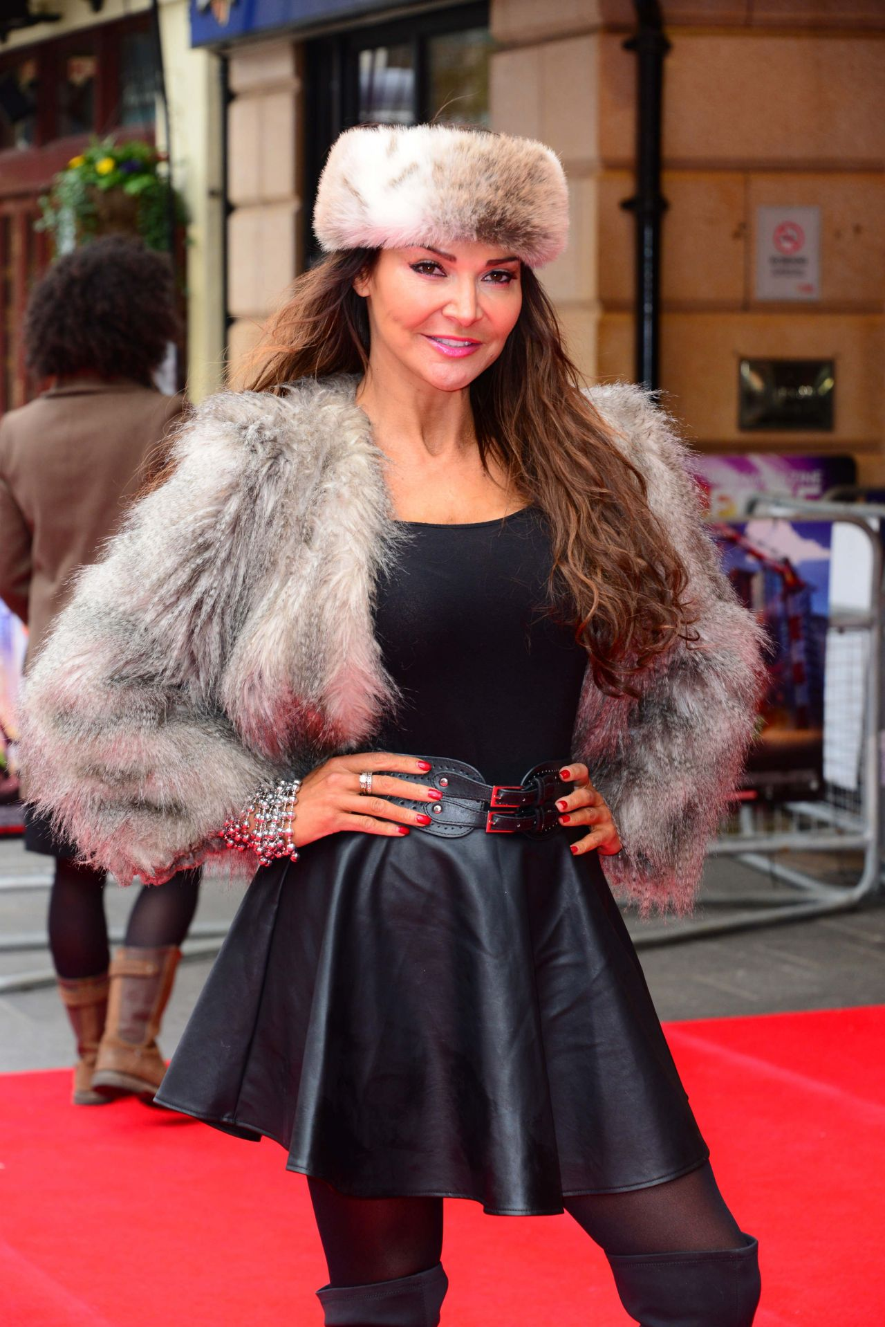 Lizzie Cundy - VIP Screening of THE LEGO MOVIE, Vue West End in London, February 2014