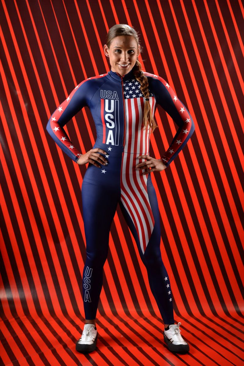 Lolo Jones – Portrait Photoshoot for Sochi 2014 Winter Olympics