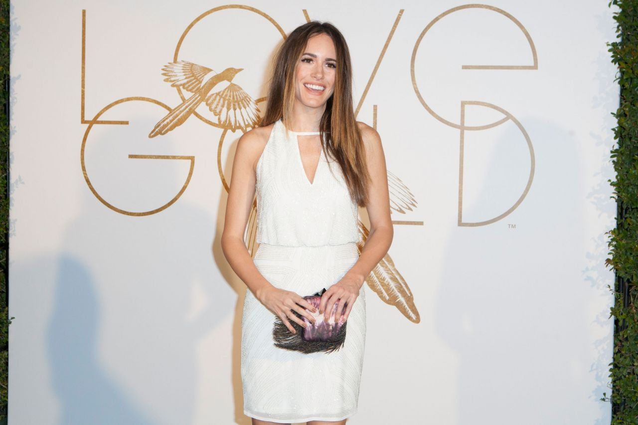 Louise Roe - LoveGold Cocktail Party 2014