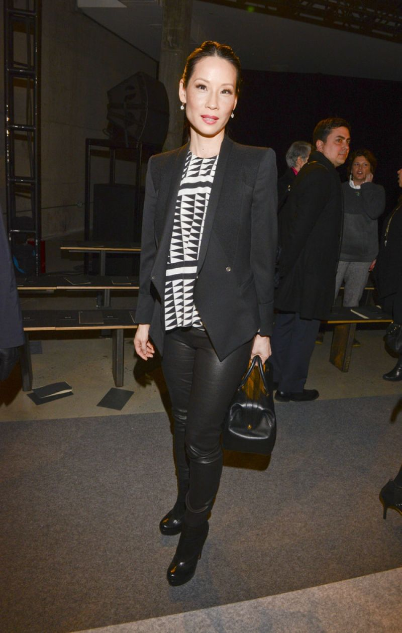 Lucy Liu - Edun Fashion Show in New York City, Feb. 2014