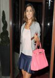 Luisa Zissman Exposing Sweet Legs at Total Minks Launch Party - London, February 2014