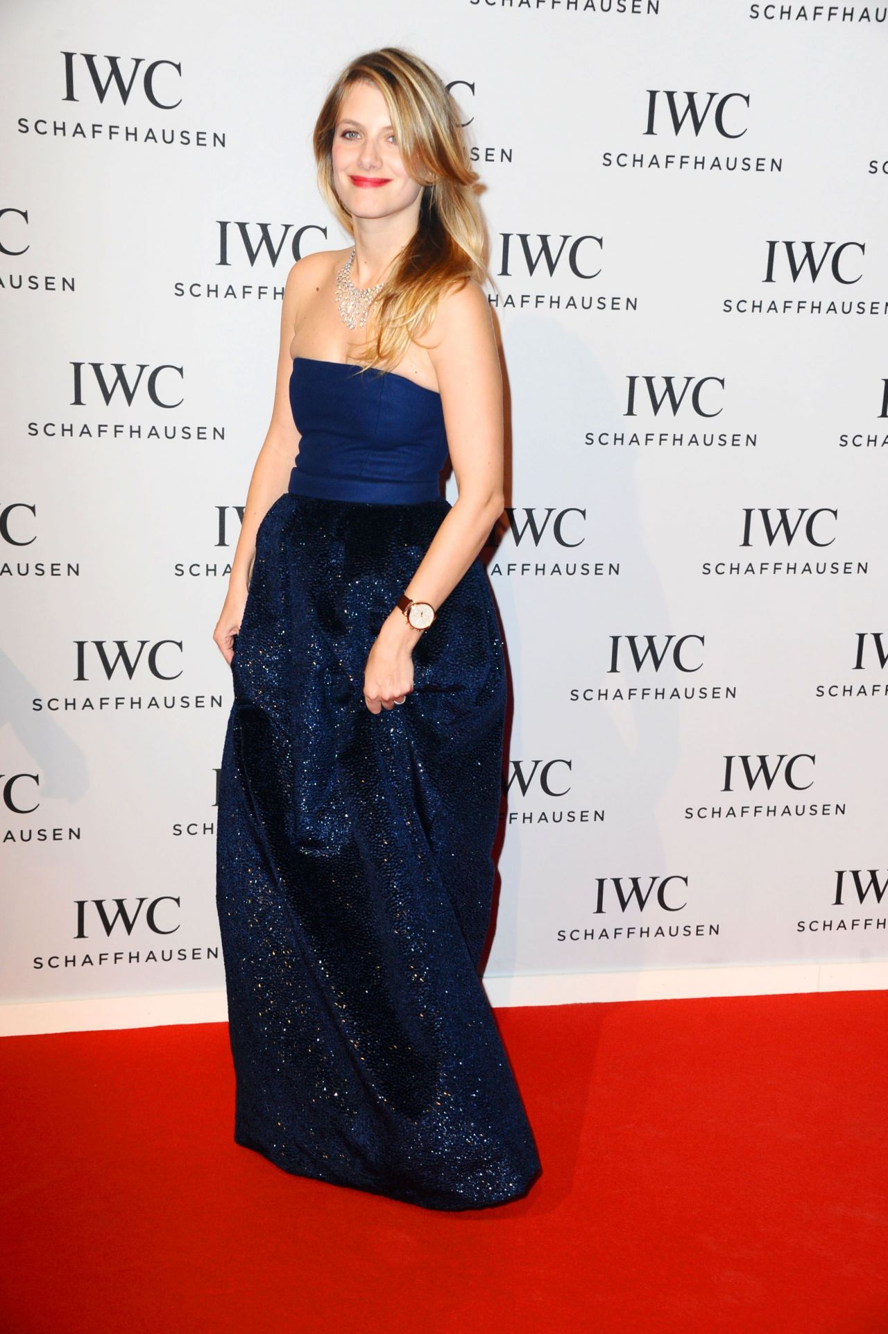 Mélanie Laurent - Salon International de la Haute Horlogerie in Geneva - February 2014
