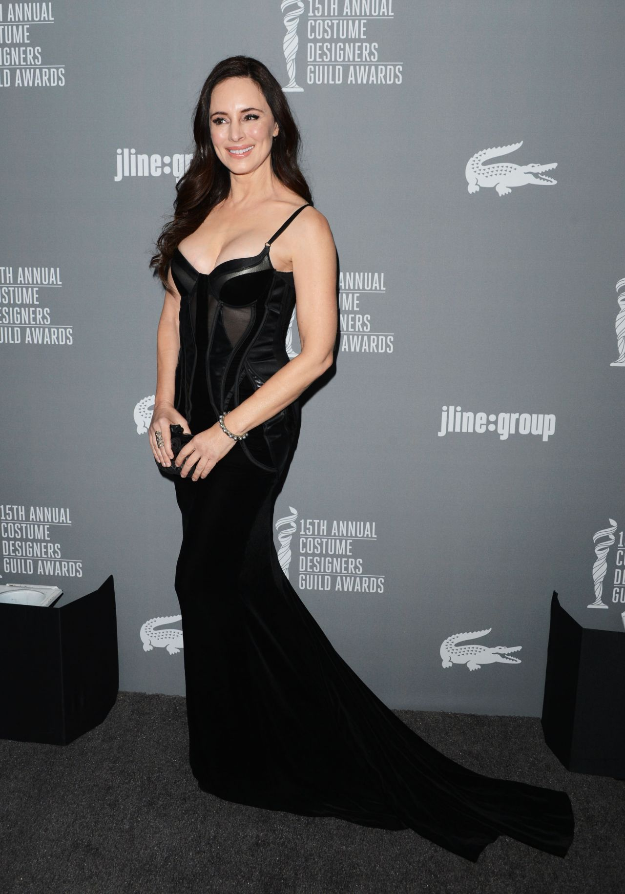 Madeleine Stowe - 15th Annual Costume Designers Guild Awards in Los Angeles