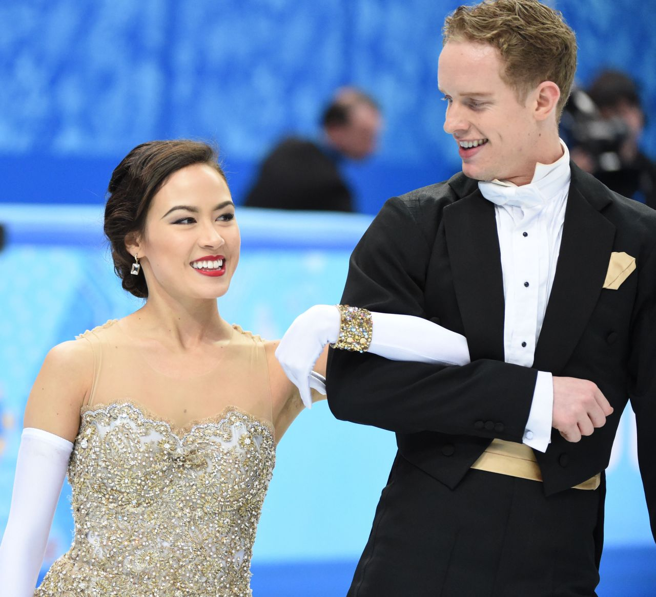 Madison Chock - 2014 Sochi Winter Olympics - Figure Skating Ice Dance