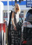 Malin Akerman at a Gas Station in Hollywood, Feb. 2014