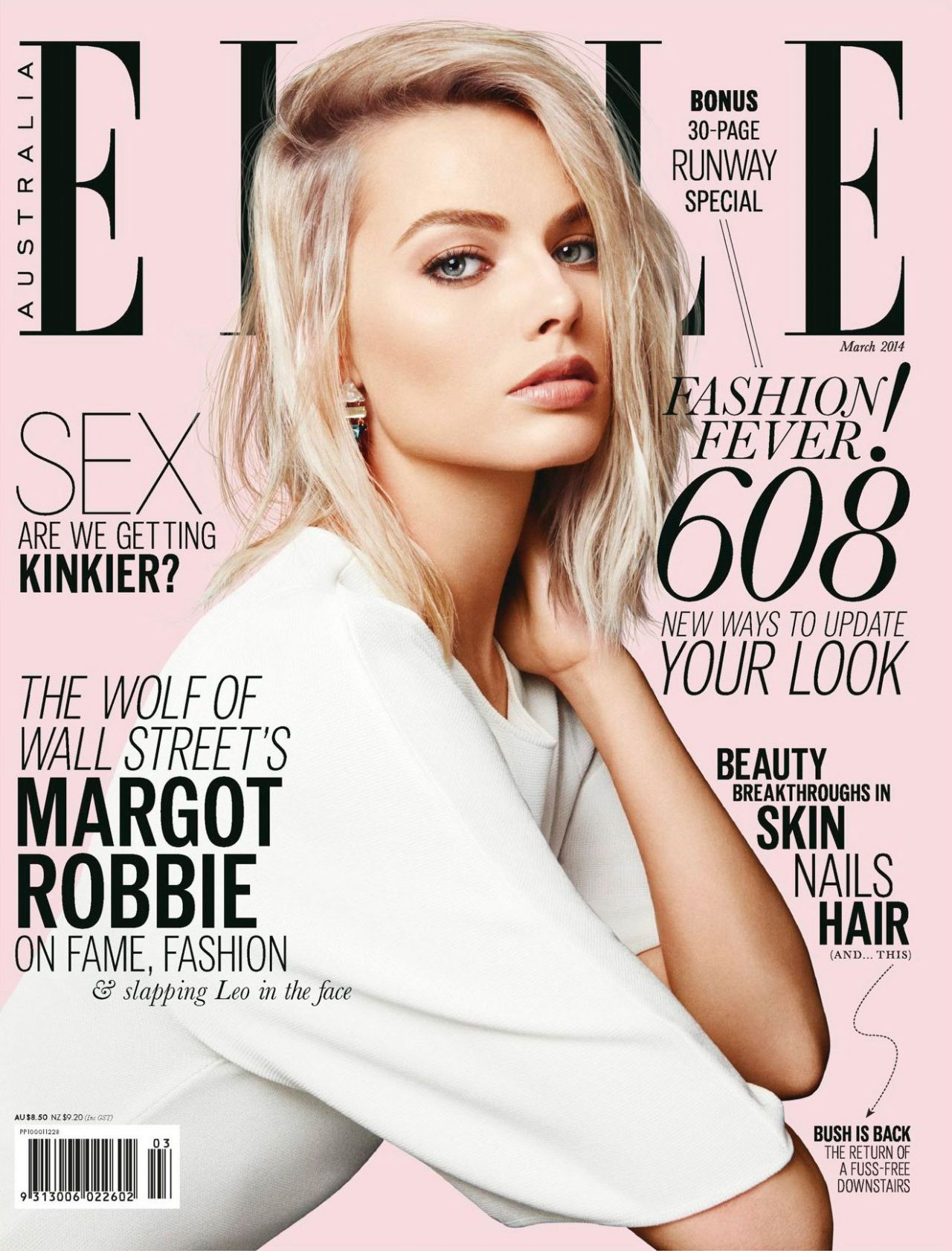 Margot Robbie - Elle Magazine (Australia) - March 2014 Cover