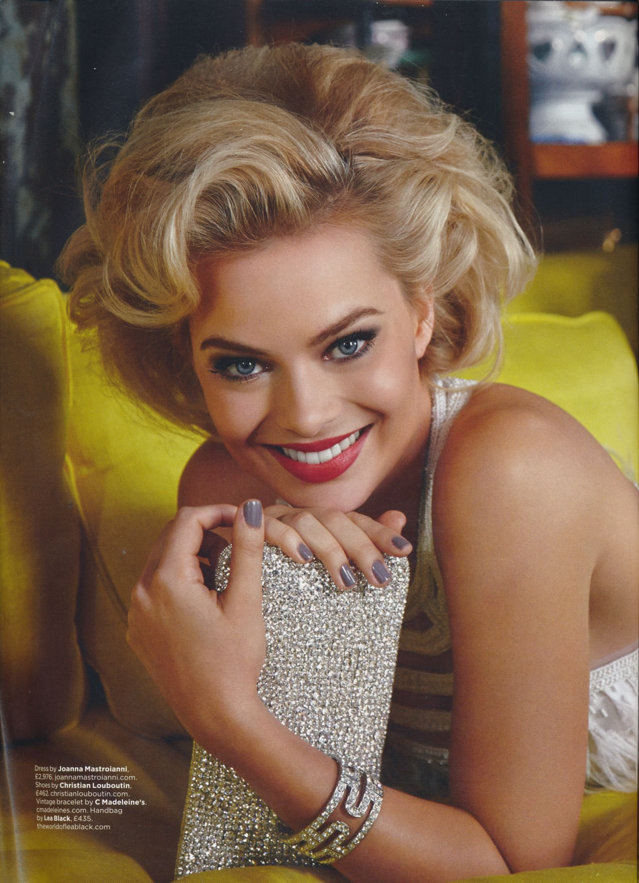 Margot Robbie - GQ Magazine (UK) - February 2014 Issue