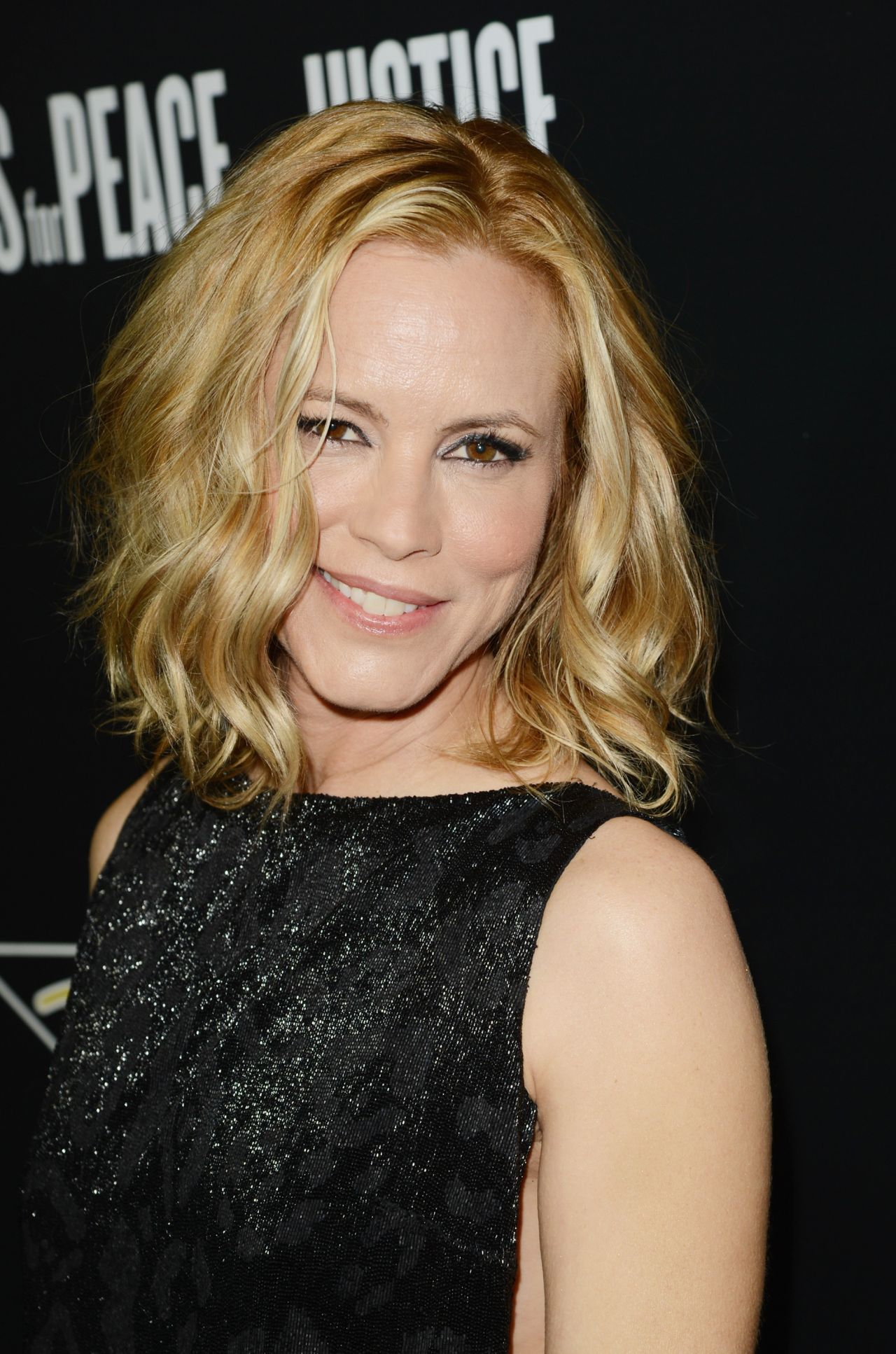 Maria Bello - 2014 Hollywood Domino And Bovet 1822 Gala-2998