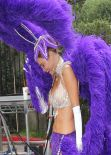 Maria Menounos As a Las Vegas Showgirl -