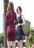 Maria Menounos & Michelle Dockery -
