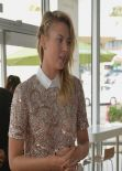 Maria Sharapova - Unveils Sugarpova Toppings Exclusively for Pinkberry in Los Angeles