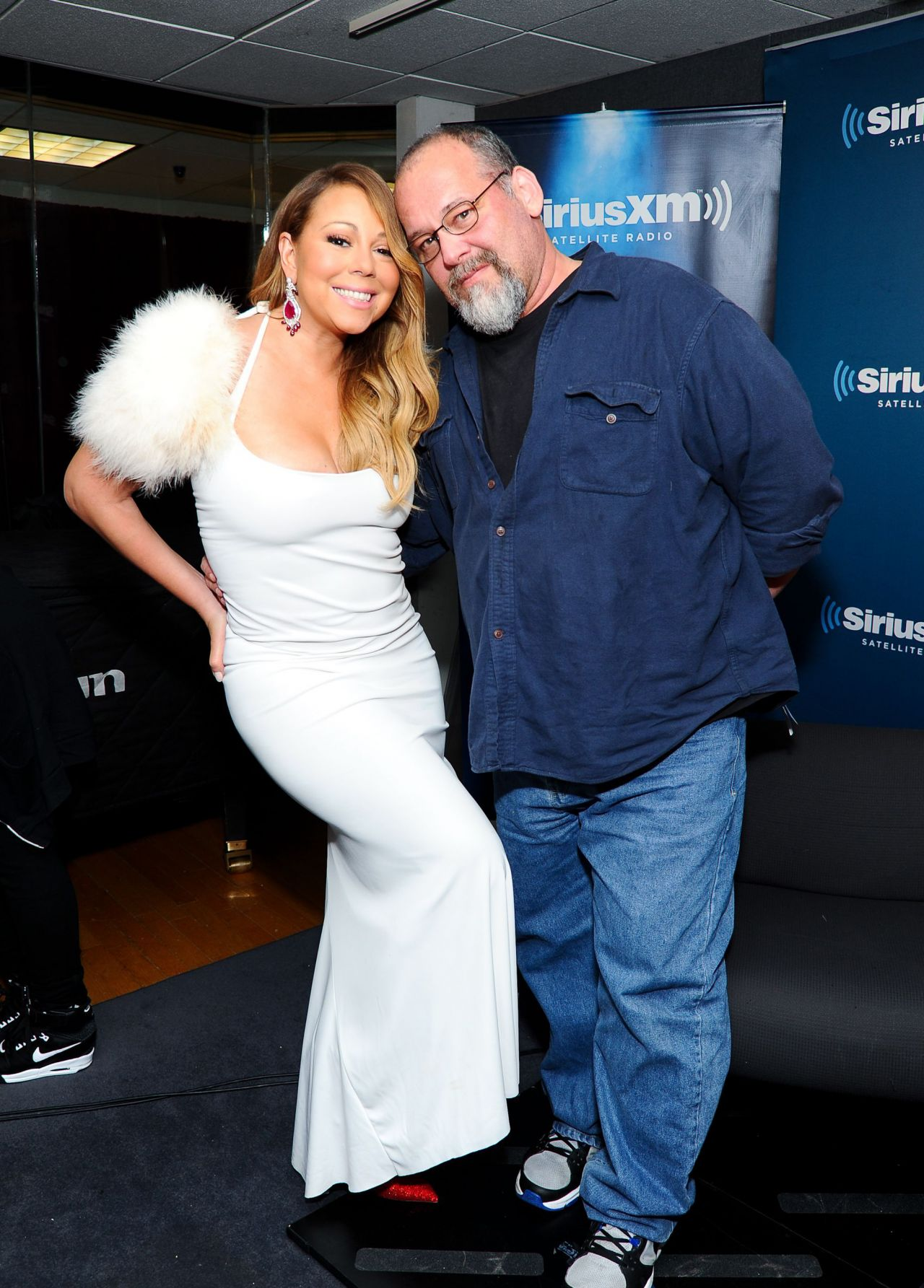 Mariah Carey and Larry Flick -