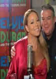 Mariah Carey in Radio Show in New York City - February 2014
