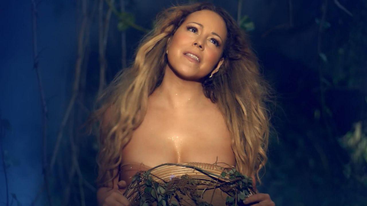 Mariah Carey Braless Fat Boobs And Pokies