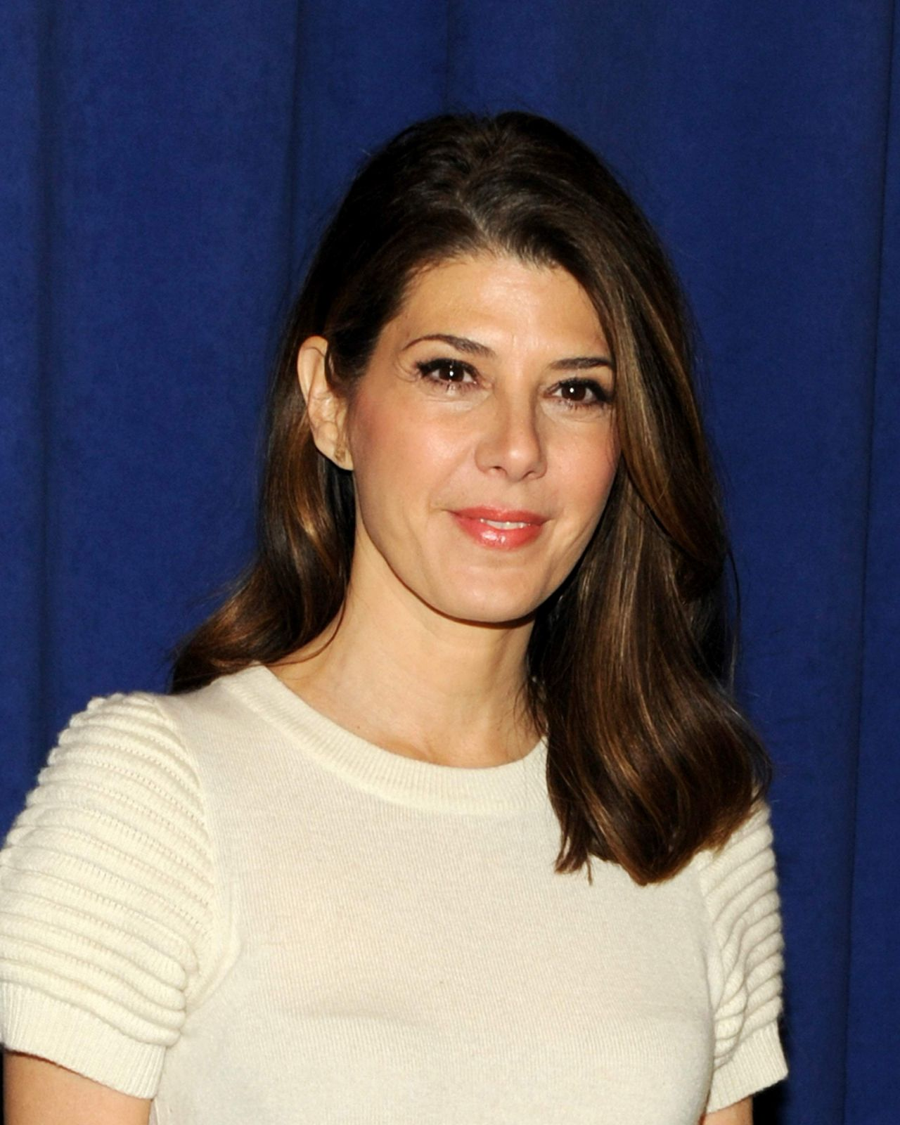 Marisa Tomei at The Realistic Joneses Broadway Press Preview - February 2014